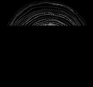 logo wood deco noir