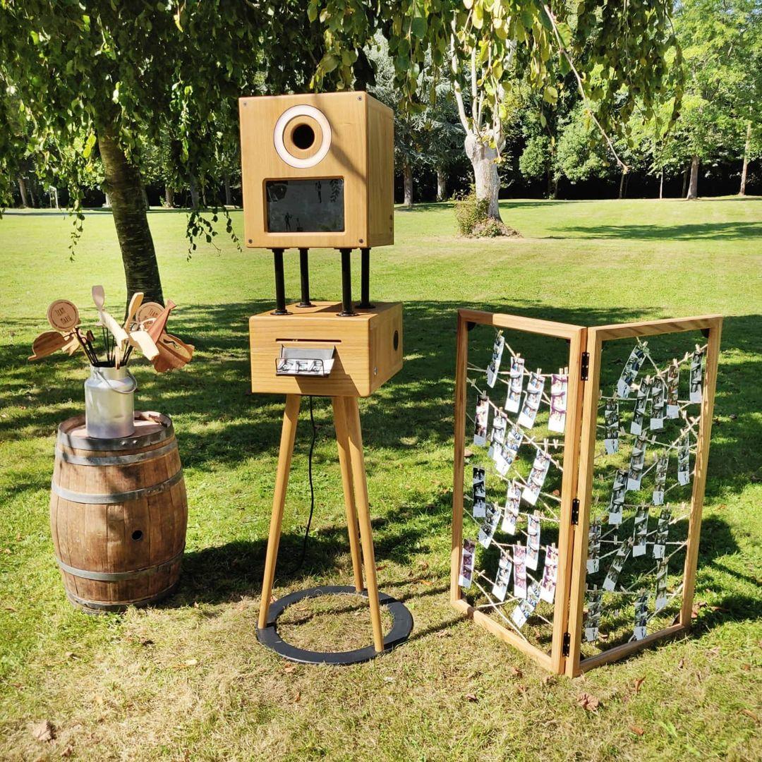 stand photobooth bois