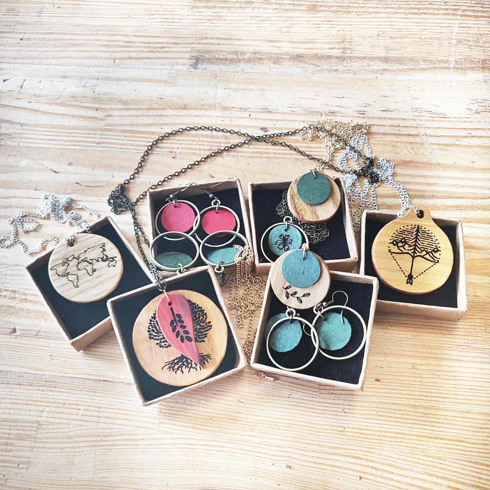 atelier DIY bijoux bois